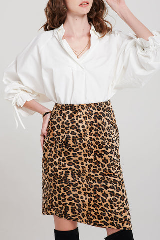 Dani Cuff Tied Blouse