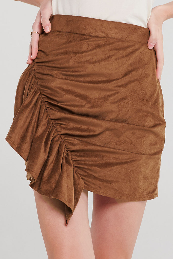 Ksenia Ruched Skirt