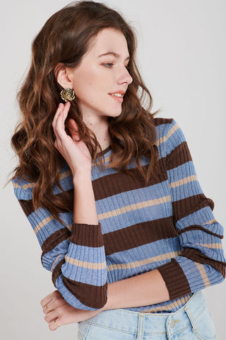 Lizzie Sparkly Striped Top