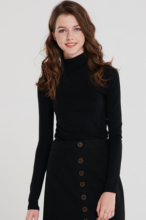 Basic Relaxed Turtleneck