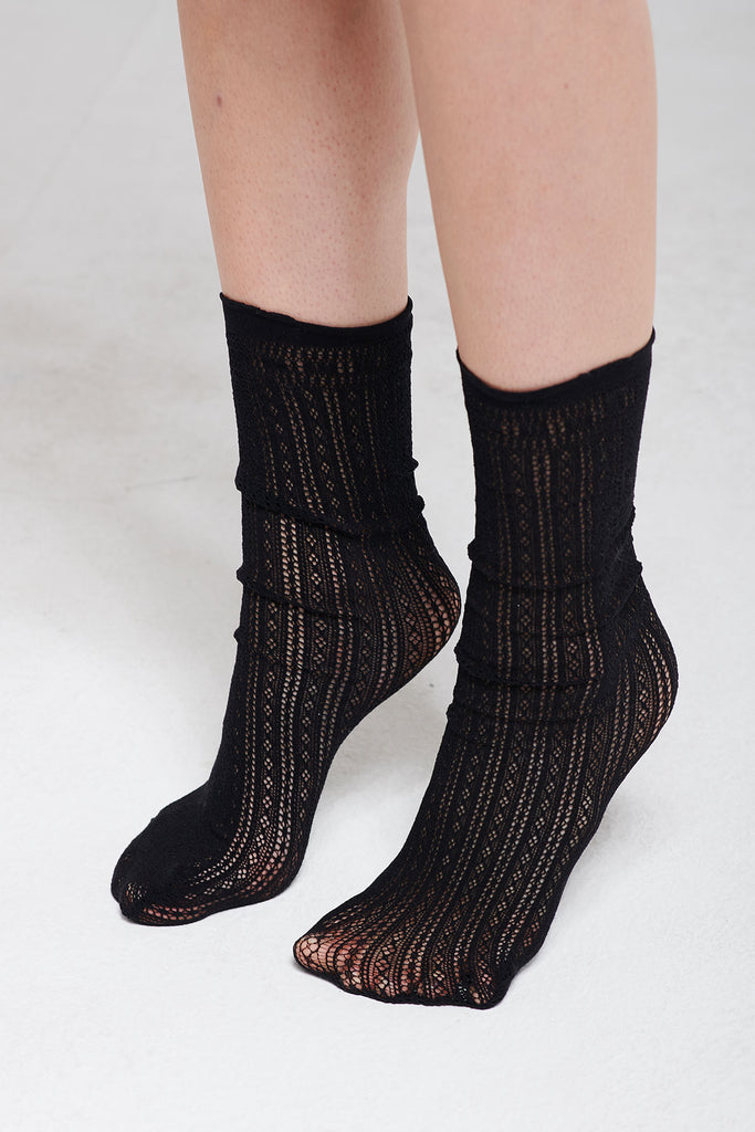 Crochet Lace Socks