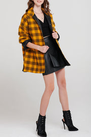 Brenda Padded Check Shirt-2 Colors