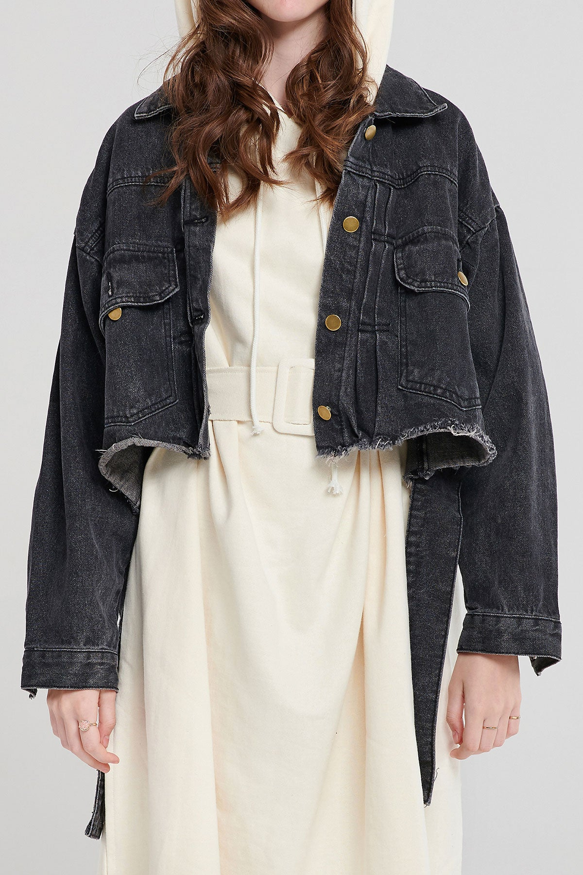 Laura Cropped Jean Jacket