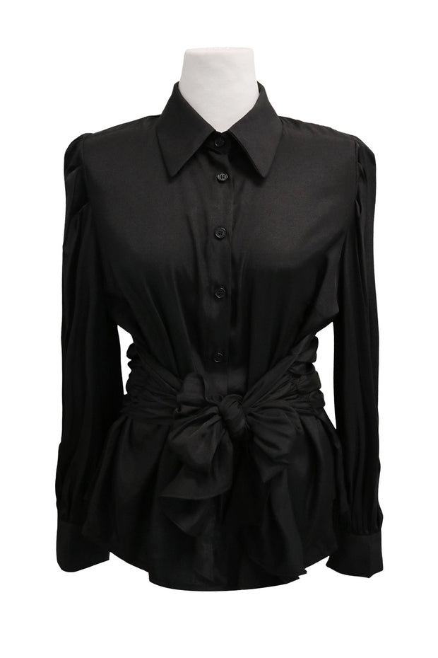 storets.com Serena Wrapped Waist Blouse