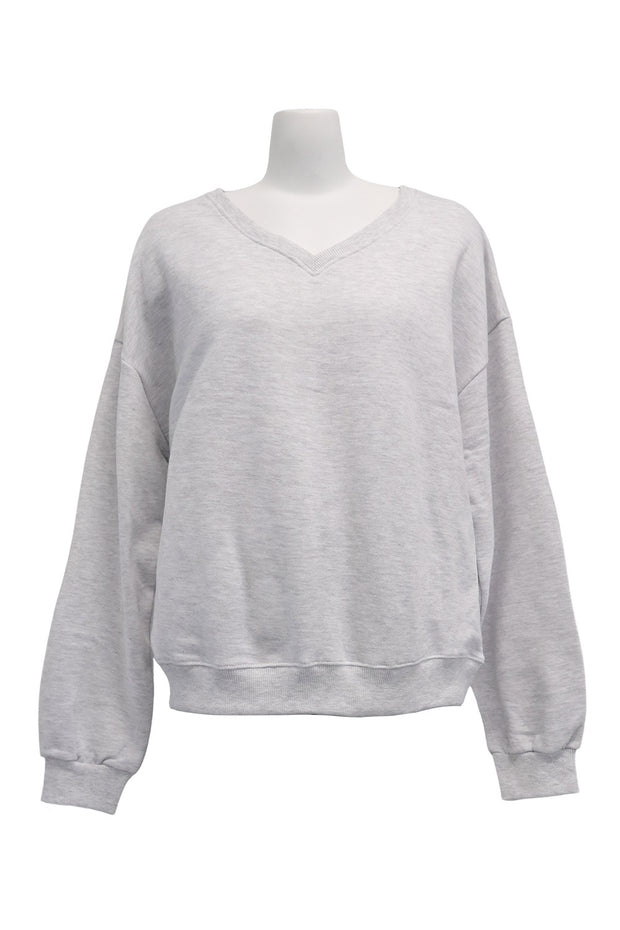 storets.com Amy V-Neck Sweatshirt