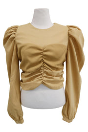 storets.com Maci Ruched Bustier Top