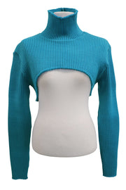 storets.com Avery High Neck Super Crop Top