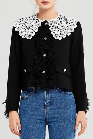 Maria Lace Collar Jacket