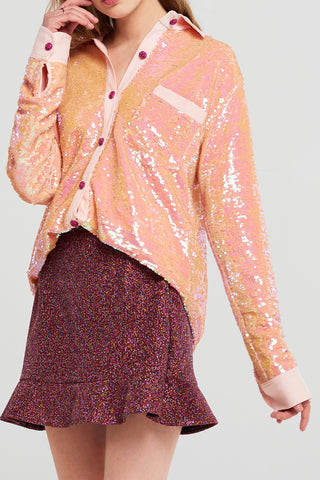 Moa Oversized Sequin Shirt