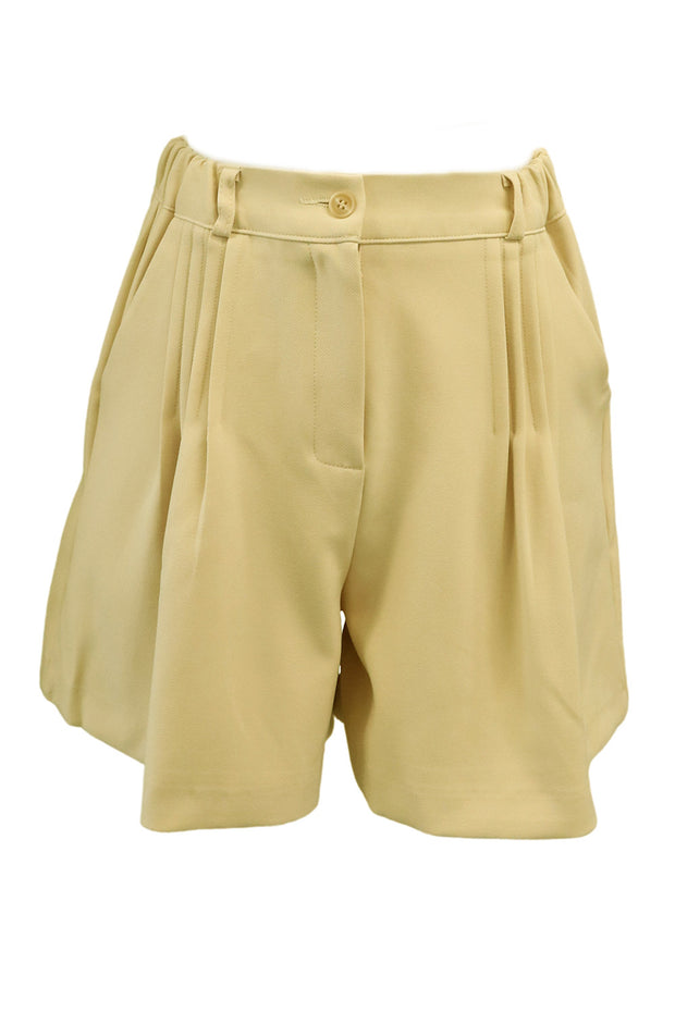 storets.com Molly Pleated Pintuck Shorts