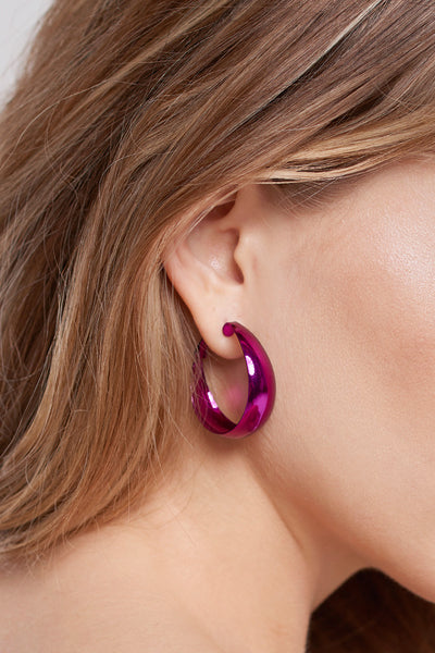 storets.com Purple Silver Earrings