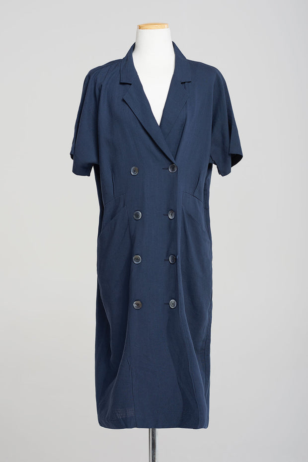 storets.com Zoe Double-button Jacket Dress-2 Colors