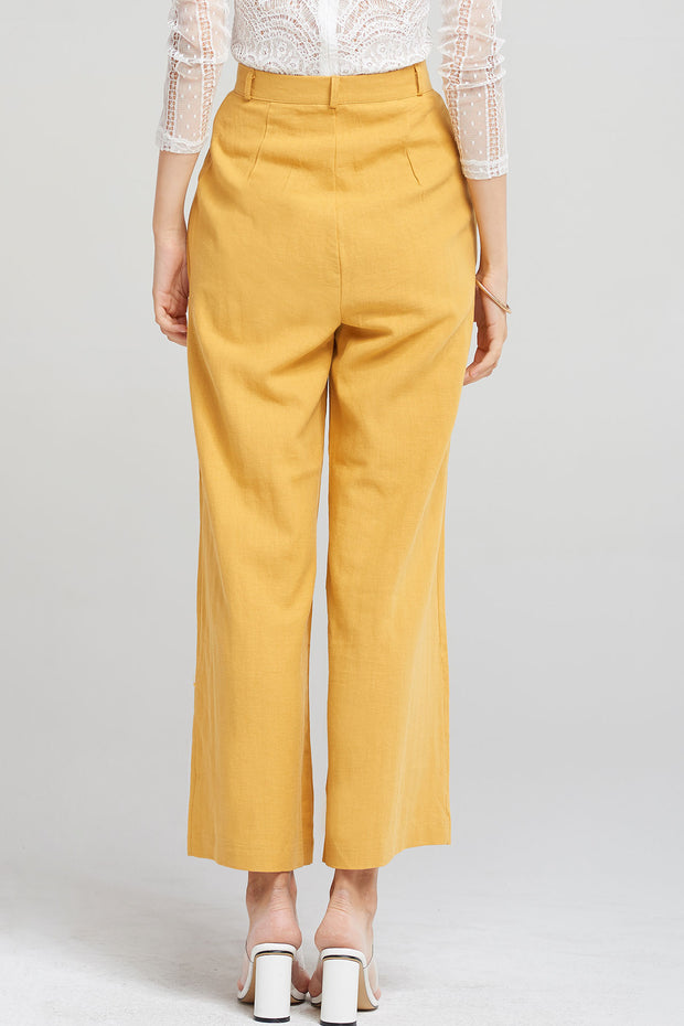 Kourtney Long Wide Pants-2 Colors