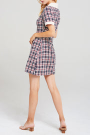Maisy Collar Tweed Dress