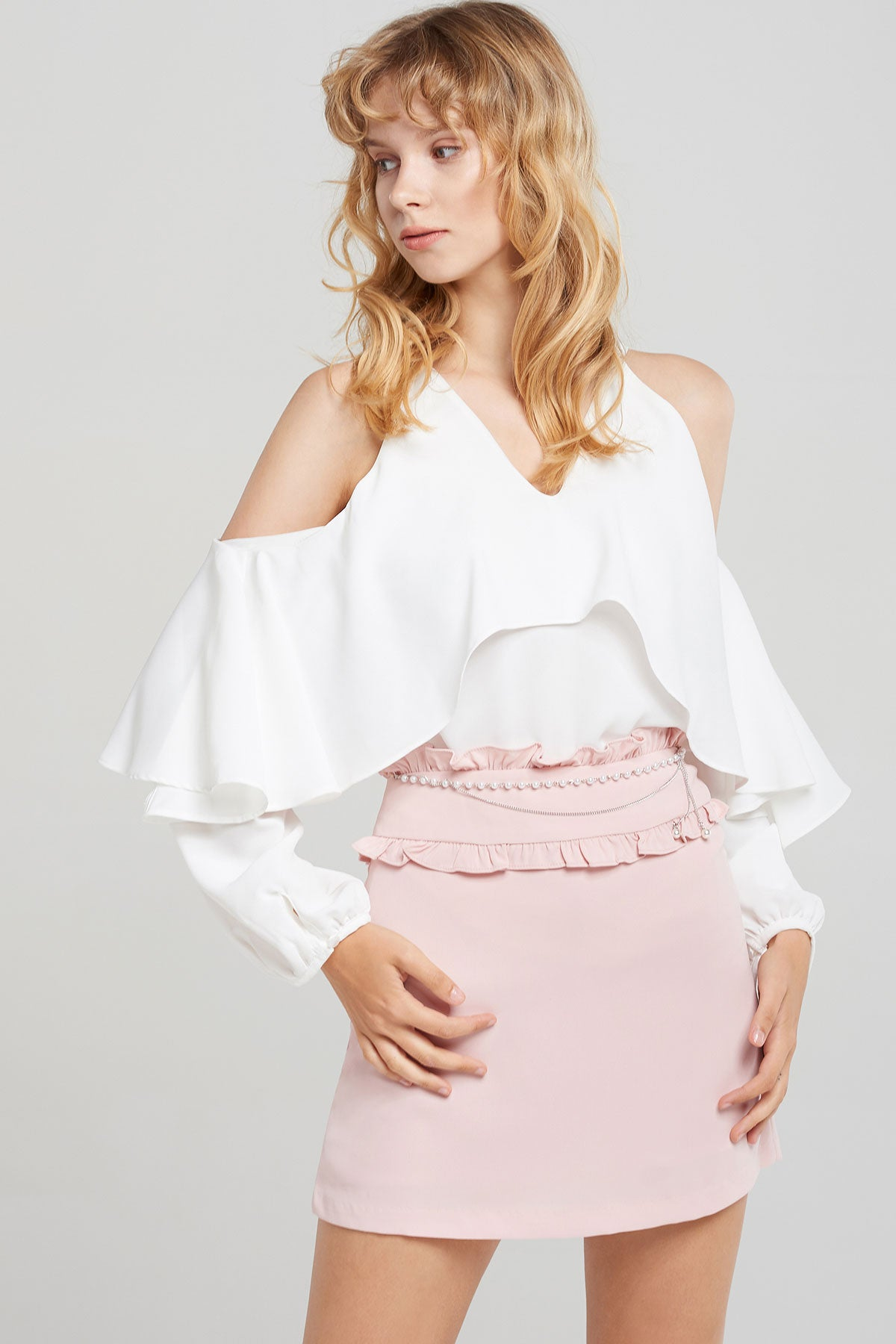 Amilee Halter Blouse