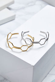 storets.com Hexagon Bangle Bracelet