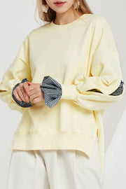Aida Shirt Sleeve Sweatshirt