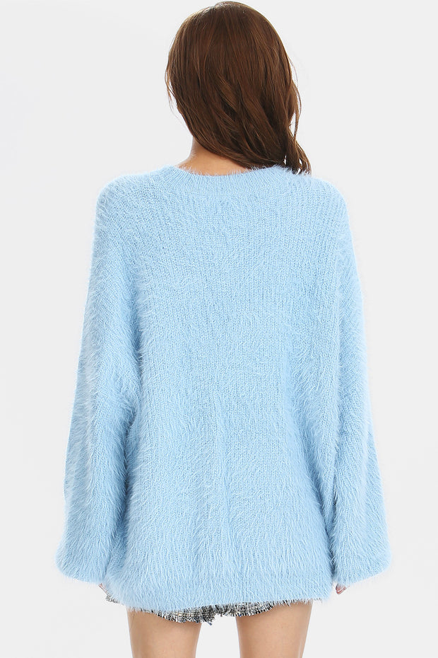 Daisy Fluffy Knit Jumper