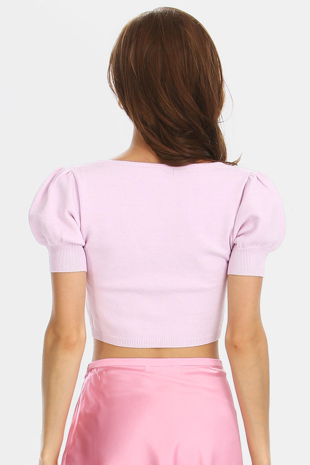 storets.com Lily Sweetheart Crop Top