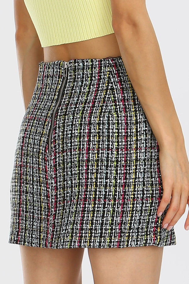 storets.com Stella Tweed Mini Skirt