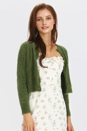 Lauren Fluffy Knit Cardigan