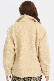 Ashley Oversized Fleece Jacket