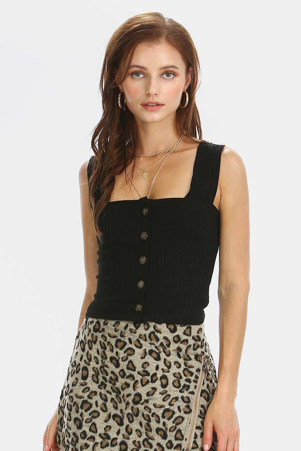 storets.com Evelyn Button Down Tank