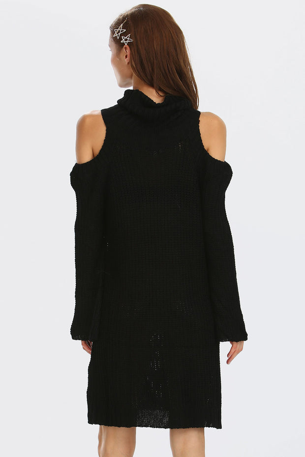 Serenity Cold-Shoulder Sweater Tunic