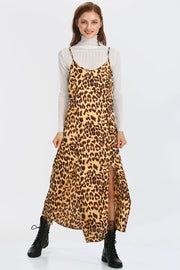 storets.com Ivy Leopard Slip Dress