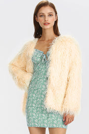 Valerie Fluffy Shaggy Jacket