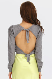 storets.com Naomi Open-Back Knit Top