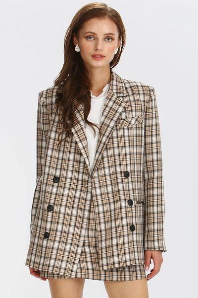 storets.com Maci Plaid Check Jacket