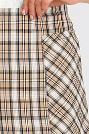 Maci Plaid Check Pocket Skirt