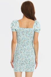 Piper Floral Square Neck Dress