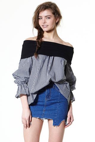 Gemma Off Shoulder Blouse