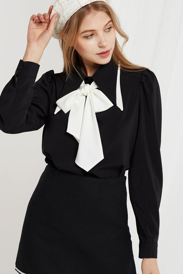 Blanche Detachable Collar Blouse