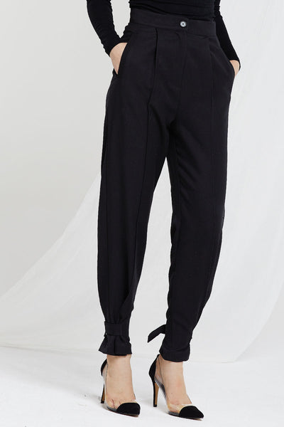 Violeta Buckle Tied Jogger Pants