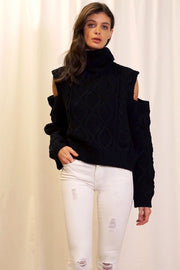 storets.com Julia Cut Out Sleeve Jumper