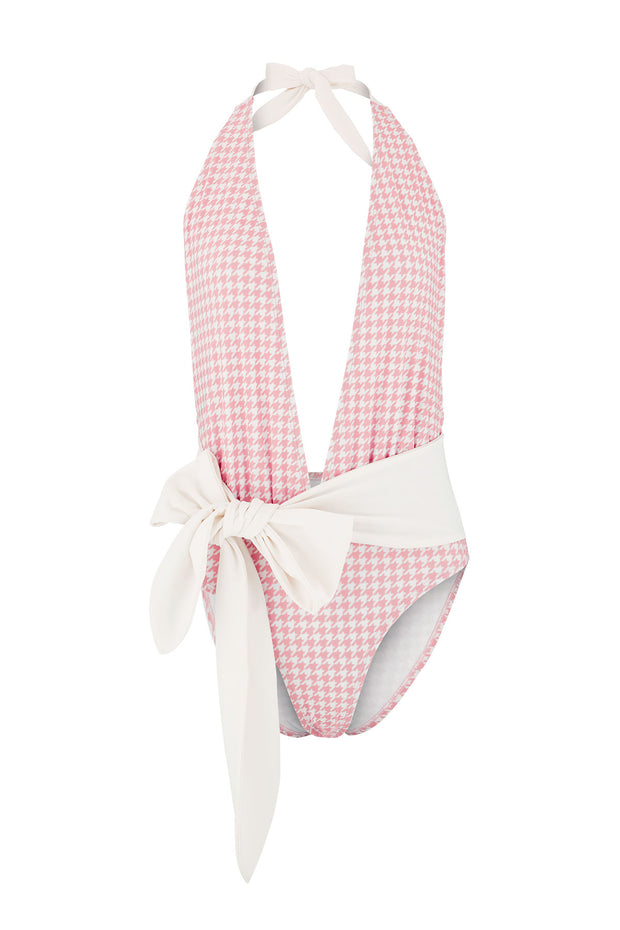 Cami Ribbon Tie Swimsuit