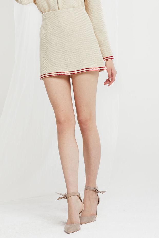 Carol Trim Mini Skirt