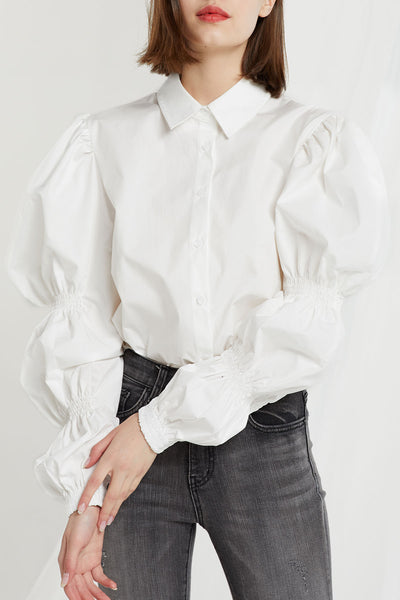 Cecilia Marie Sleeves Shirt