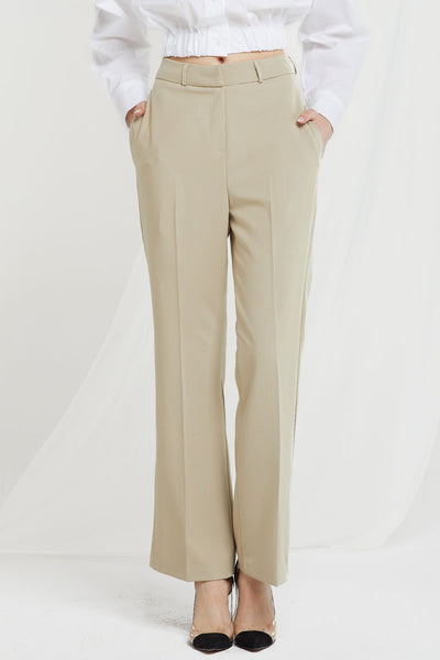 Dalary High Waist Boot Cut Pants