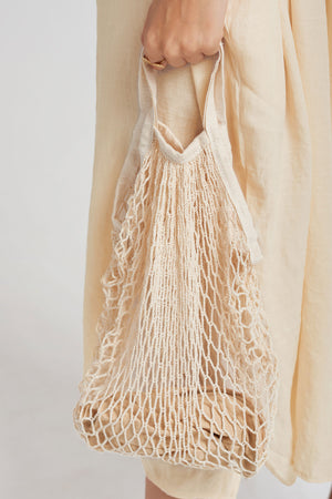 Fishnet Eco Bag-Ivory