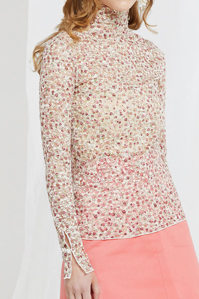 Jemma Floral Lace Top