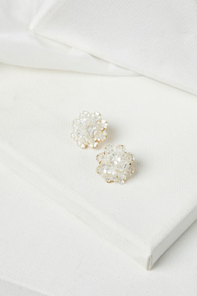 storets.com Flower Bouquet Stud Earrings