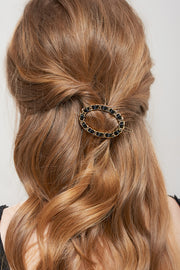 storets.com Gold Chain Ribbon Hairpin