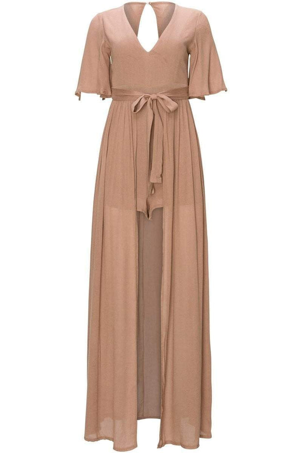 [DOUBLE ICON] DESERT BLISS MAXI ROMPER - Shop Double Icon