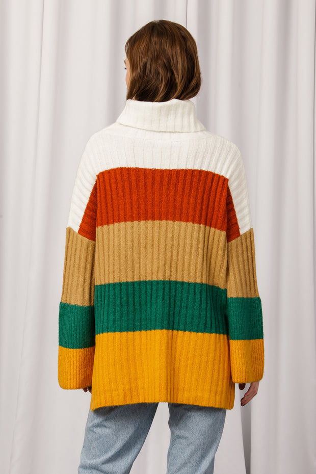 [DOUBLE ICON] HIGH VISTA TURTLENECK SWEATER