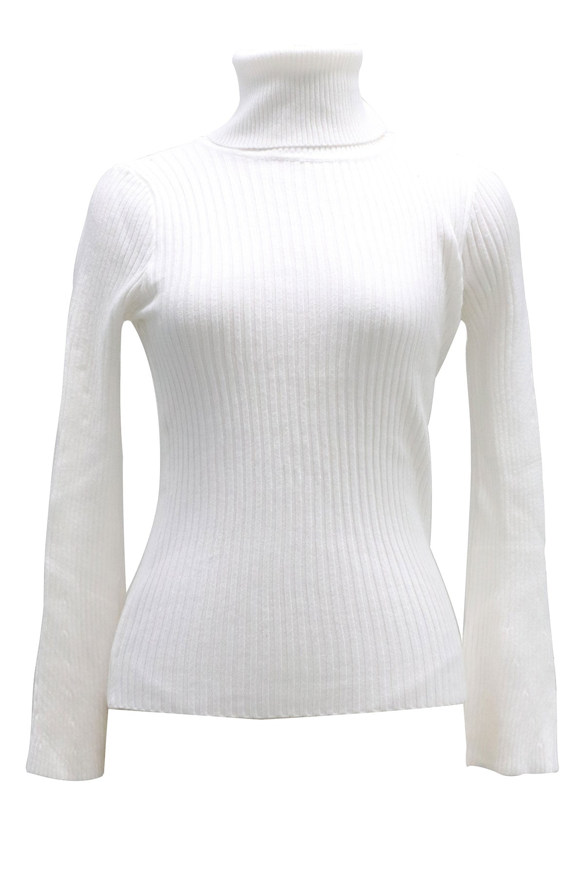 Darla Ribbed Turtleneck Sweater-2 Colors