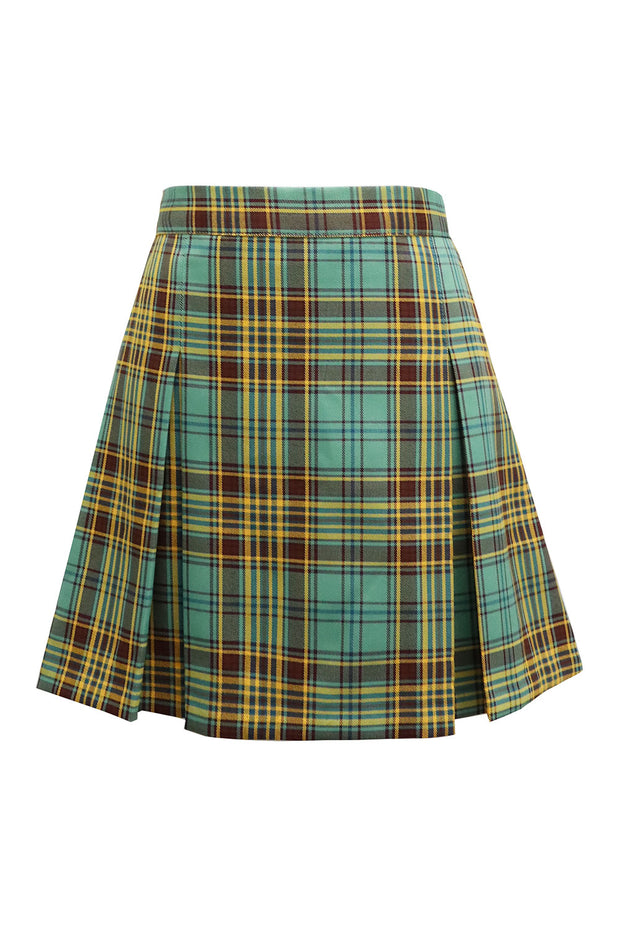 storets.com Joy Tartan Check Pleated Skirt